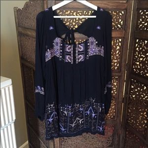 NWT Free People Rhiannon Embroidered Dress